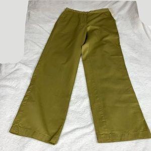 Jones New York Oxford Adjustable Waist Khaki Pants